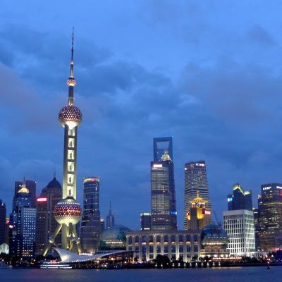 Fotografía de Shangái tomada por un voluntario en China.